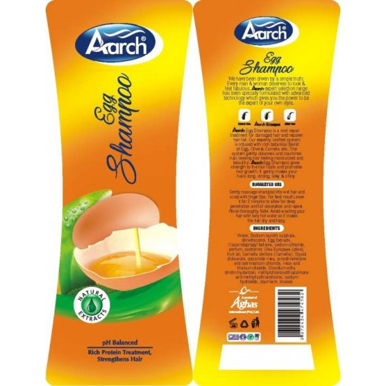Aarch Egg Shampoo