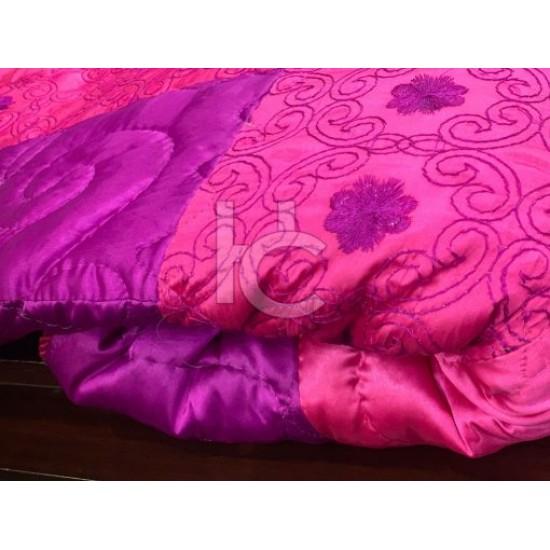 Heavy Silk Embroidered Bed Spread 5pcs (Millennium 2105)