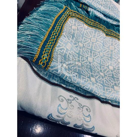 Embellished Shanghai Jacquard Bedset  Arizona 1207
