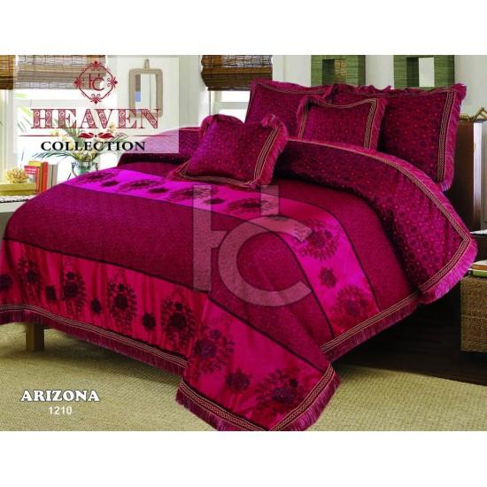 Embellished Shanghai Jacquard Bedset  Arizona 1210