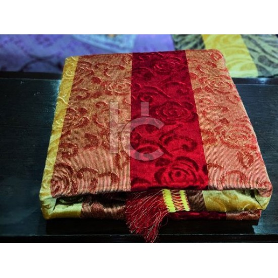 Heavy Palachi Bed Sheet Set 5pcs (Marry Silver 4208)