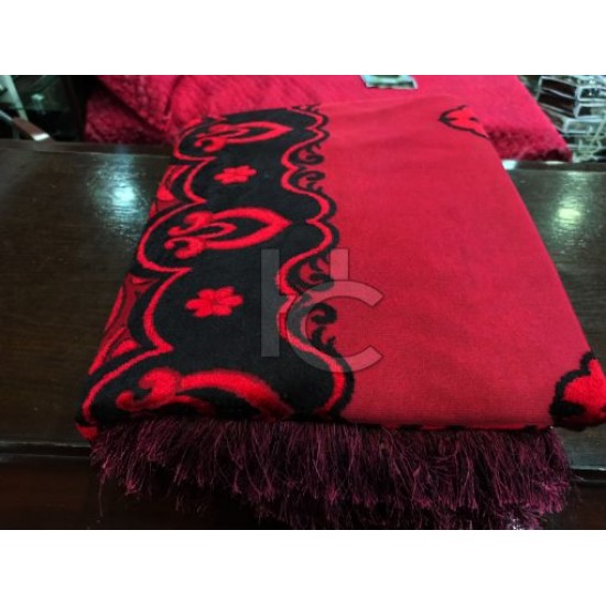 Heavy Palachi Bed Sheet Set 5pcs (Marry Silver 4214)