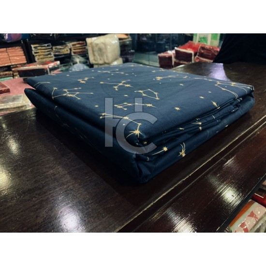 Pure Cotton Bed Sheet 3PC (PC1224)