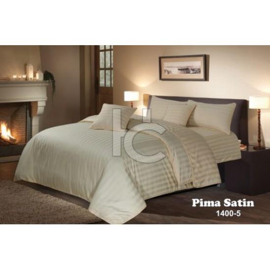 Stripe Satin Duvet Set 6pcs (Pima Satin 1400-5)