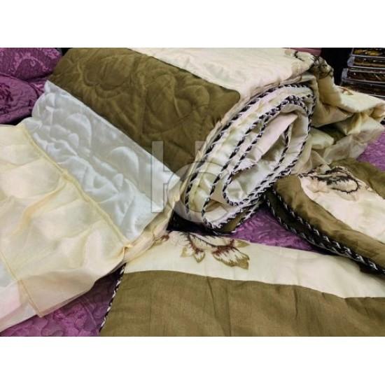 Royal Organza Comforter Set 6pcs (Royal Cottage 8207)