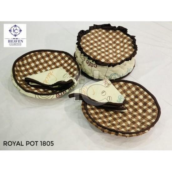 Hot Pot Set 6pcs (Royal Pot 1805)