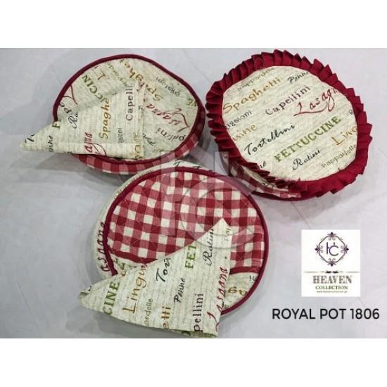 Hot Pot Set 6pcs (Royal Pot 1806)