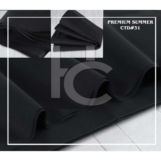 Men Pure Cotton Black CTD-31