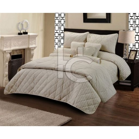 Cotton Duck Quilt Set (Silver Marquee 1112)