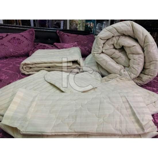 Cotton Duck Quilt Set (Silver Marquee 1112)