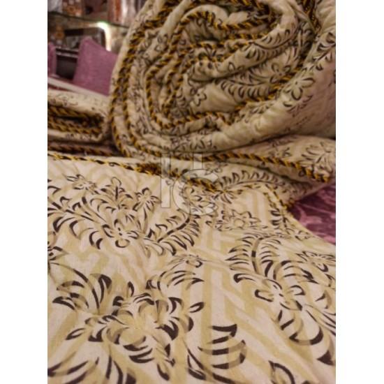 Cotton Flannel Quilt Set 6pcs (Royal Twist 8101)