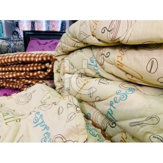 Cotton Stripe Quilt Set (Gold Marquee 1211)