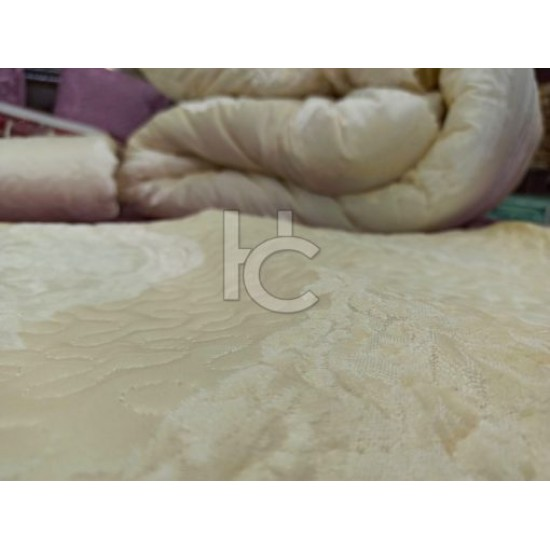 Luxury Quilted & Filled Razai Set 14pcs (Marry Gold Plus 4310)